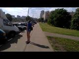 Прогулка с Катей на скейтах
